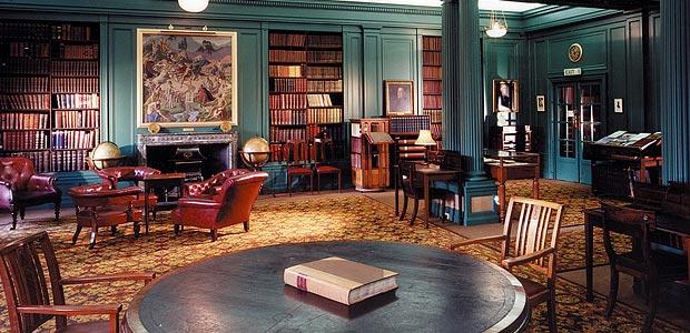 Athenaeum Library Interior