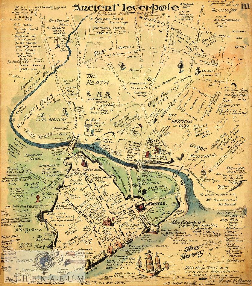 Maps of Ancient Liverpool available now! - The Athenaeum ...